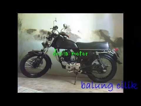 Modifikasi Motor Honda Gl100 Jadi Dobel Stater