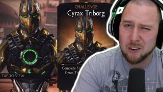 CYRAX TRIBORG CHALLENGE | Mortal Kombat X (iOS/Android) Gameplay