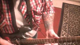 Five Finger Death Punch Coming Down Guitar Lesson By Mike Gross