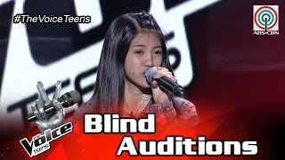 The Voice Teens Philippines Blind Audition: Chloe Redondo - Masterpiece