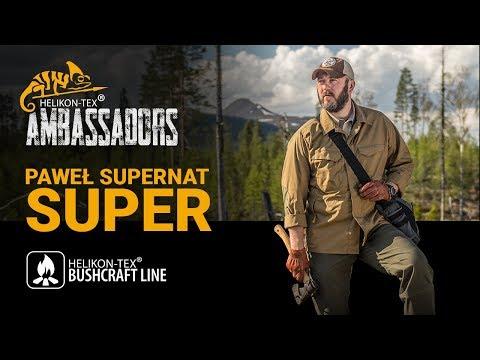 """Helikon-Tex - Paweł """"Super"""" Supernat (Bushcraft Line Ambassador)"""