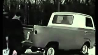 Corvair Rampside Vs Ford Econoline Truck Vintage