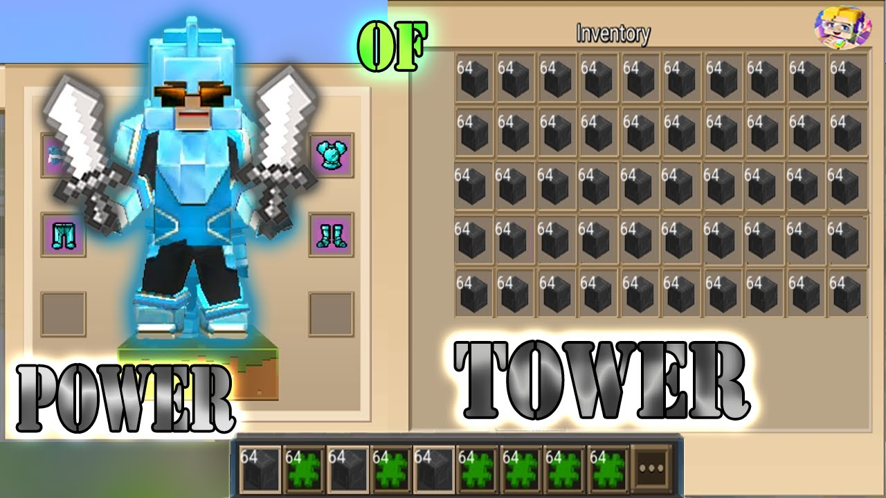 Download POWER OF 999+ TOWERS In Bed Wars | Blockman Go Gameplay (Android , iOS)