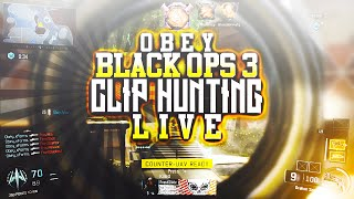 Obey Jylos: Black Ops 3 Clip Hunting LIVE! (7 CLIPS!)
