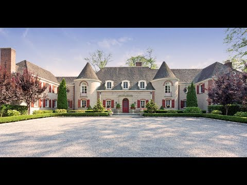 Luxury Long Island Property Tour: 5 Summerwind Dr, Muttontown,  NY 11545