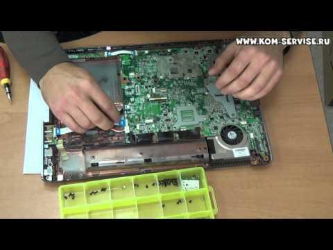 Чистка от пыли ноутбука HP Pavilion dv6 1450 er. Замена термопасты.