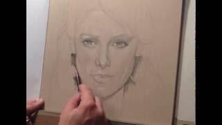 Ashley Greene (from Twilight) Speed Drawing