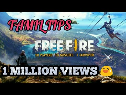 Free fire TAMIL GAMEPLAY full tips n instructions AND BOOYAH!