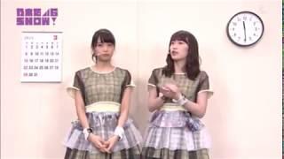 乃木坂46showでの深川麻衣、高山一実のコント.