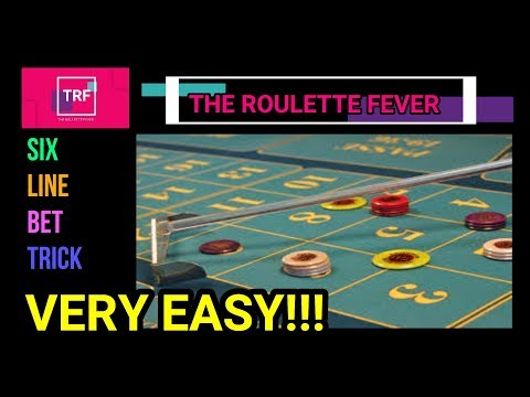 Six Line Bet Trick | VERY EASY!!! | TheRouletteFever