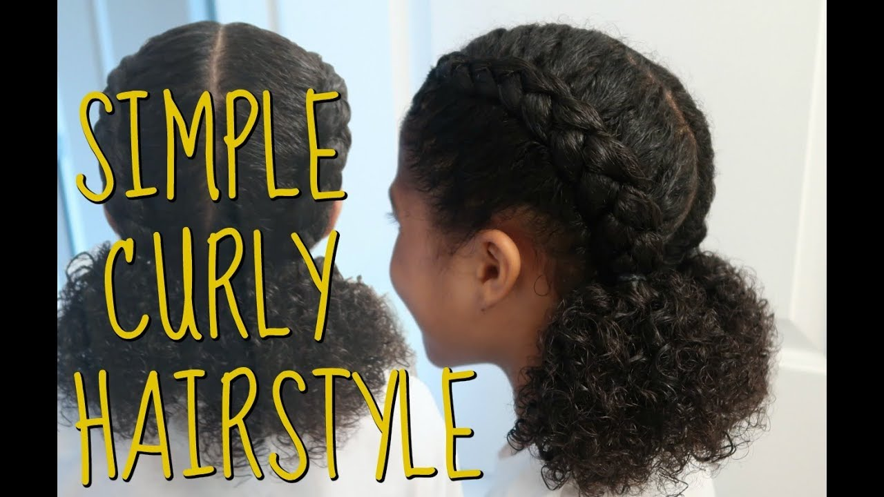 Quick Summer Hairstyle For Kids - YouTube