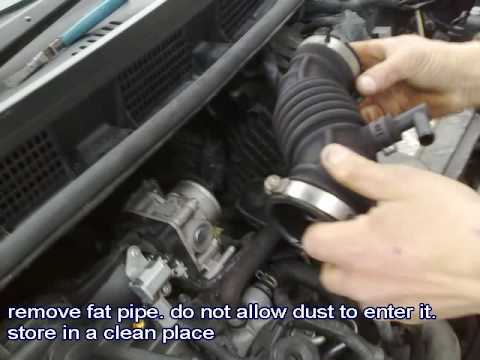 how to change nissan note spark plugs youtube