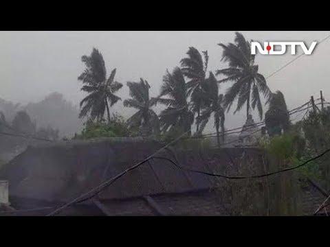 ओडिशा में पहुंचा 'तितली' तूफान'