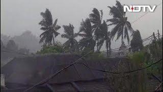 ओडिशा में पहुंचा \'तितली\' तूफान\'