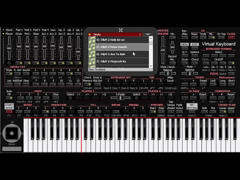 Open KORG Pa Sets directly in Windows