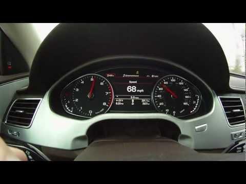 Audi A8 L 6.3L FSI W12 quattro 0-60 mph (0-100 km/h) Acceleration...High Quality Sound!