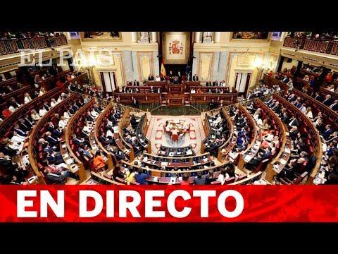 DIRECTO  Constitución de las cortes en la XIV legislatura