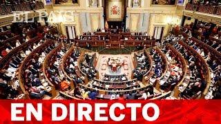 DIRECTO | Constitución de las cortes en la XIV legislatura