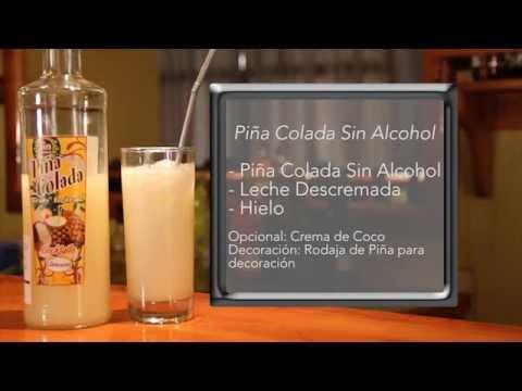 Piña Colada Sin Alcohol Piña Colada