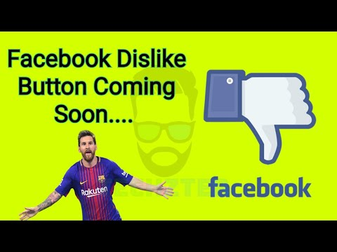 Facebook Downvote Dislike Button - All you need to know