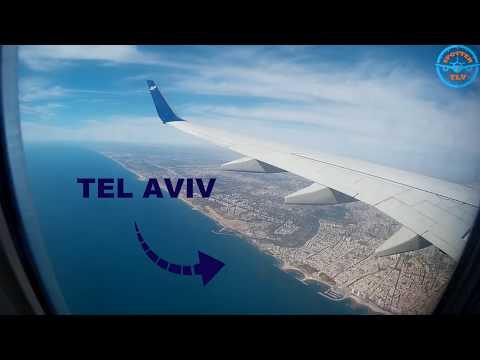 Flight Report Prague - Tel Aviv  with UP BY EL AL