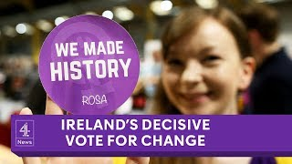 Referendum overturns Ireland's abortion ban