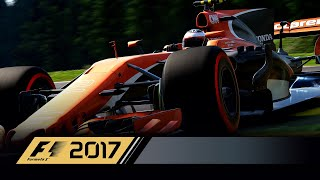 F1 2017 Gameplay   25% Unedited Race   Ultimate Ai   Marina Bay Street Circuit