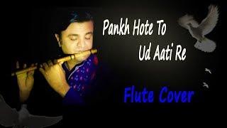 Pankh hote to ud aati re | Flute Cover |  instrumental | Nilesh Bhanushali Resimi