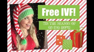Free IVF!❤️ Tis the season of giving HOPE!