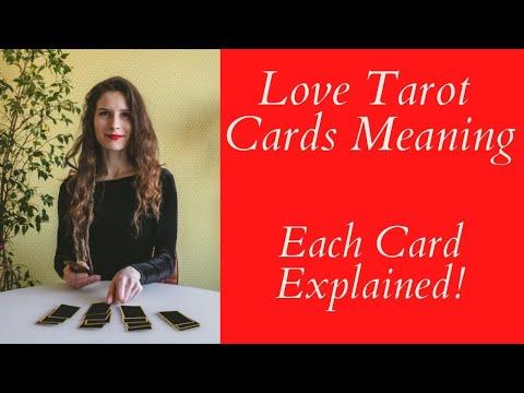 Love Tarot Cards Meaning ❤ Each Card Explained ❤