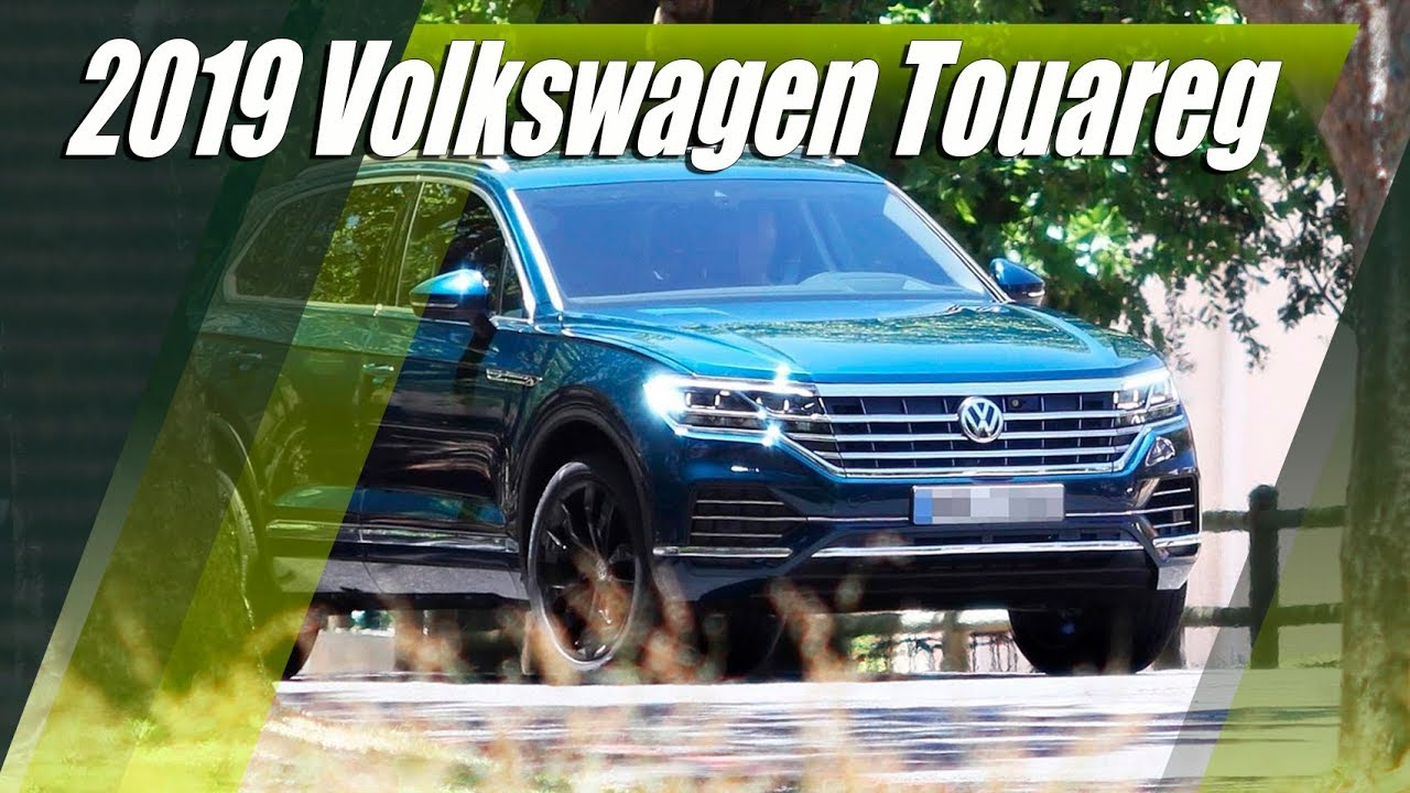 all new 2019 vw touareg revealed in full youtube. Black Bedroom Furniture Sets. Home Design Ideas