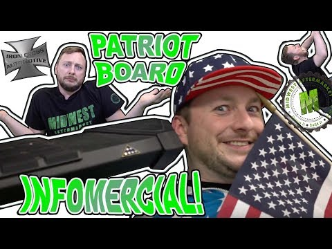 Why You Need the Iron Cross Patriot Boards!