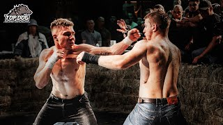 Andrey Wushu Master vs. Nikolay Chibis/ fight of the night/ bare-knuckle fight/ TDFC 4