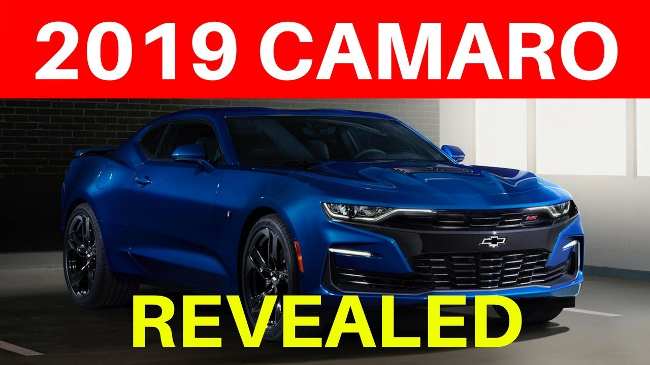 2019 Camaro Refresh Reveal Brief Overview