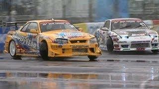 2012 D1 GP Drifting Round 1 Top 16 Suenaga vs Matsui VIDEO OPTION Vol.219 Part 9/12