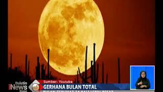 Siap-siap!! Supermoon 31 Januari 2018 akan Tampak Jelas di Indonesia - BIS 26/01