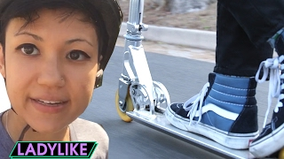 Women Ride Scooters Everywhere For A Day • Ladylike thumbnail