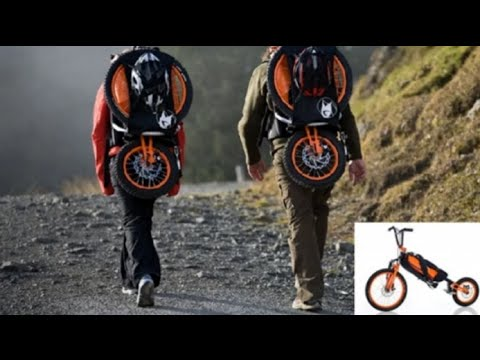 how to carry a backpack on a bike