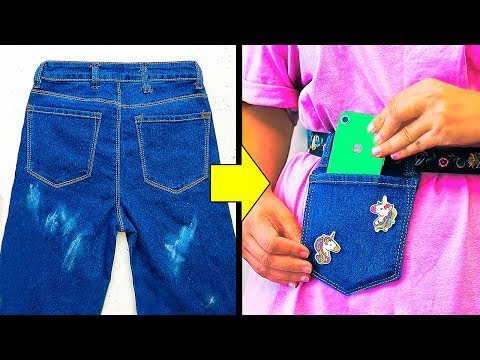 16 AWESOME JEANS HACKS THAT ARE SO CLEVER thumbnail