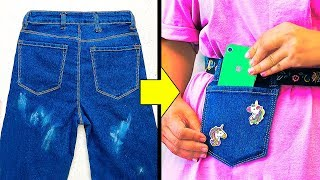 16 AWESOME JEANS HACKS THAT ARE SO CLEVER