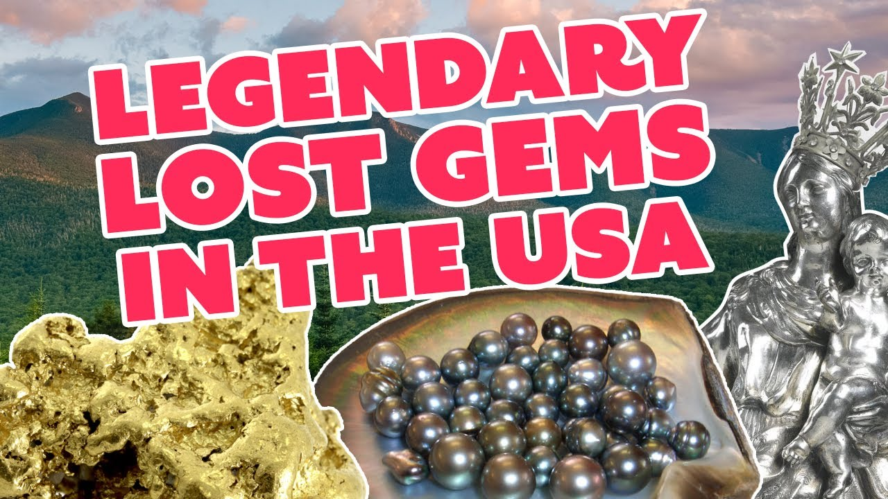 Legendary Lost Jewels, Hidden Gems & Buried Treasure Across the USA