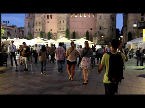 Barcelona VLOG 2 Shopping streets and Wine Festival
