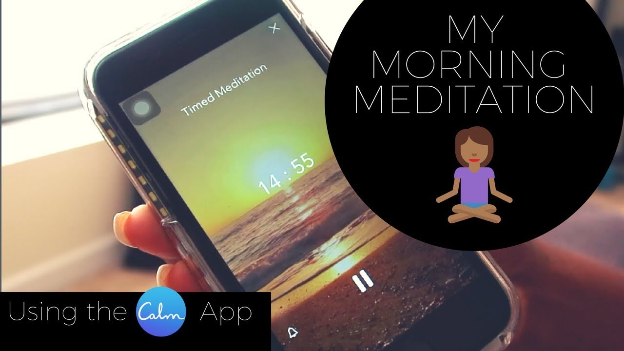 How to Meditate Using The Calm App