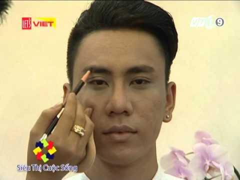 Chuyen gia trang diem Trong Nguyen gioi thieu Xu huong trang diem cho Nam gioi 2016