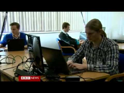 The cyber lab working to beat hackers.flv