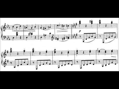 Aleksandr Glazunov - Waltz Op. 42 No. 3 (audio + sheet music)