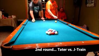"""Fun Invented Billiards Game 8 Ball Pool """"Cheese Stick"""" - Ultimate Party Game?"""