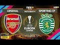 Arsenal vs Sporting CP 0-0 | Europa League 2018/19 | Matchday 4 | 08/11/2018 | FIFA 19