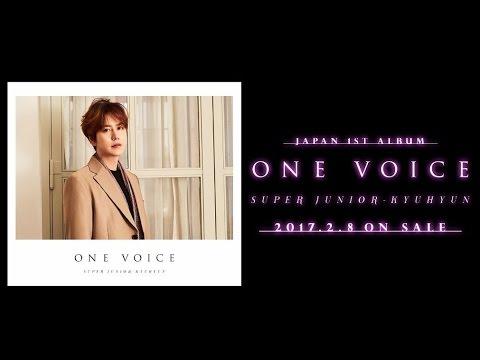 SUPER JUNIOR-KYUHYUN / 1stアルバム「ONE VOICE」収録LIVEDVDダイジェスト