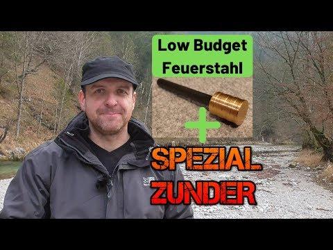 Low Budget Feuerstahl und Spezialzunder? ????????